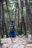 Путь Hiker onbeautiful lycian Стоковые Изображения RF