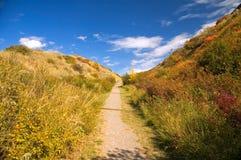путь lethbridge coulee Стоковое Изображение