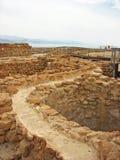 Путь Qumran стоковые изображения