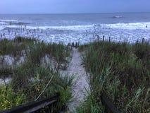 Путь Sandy стоковая фотография rf