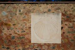 Путь St James подписывает внутри Belorado Кастилию Стоковая Фотография
