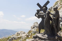 Путь Viggiano Иисуса Стоковое Фото