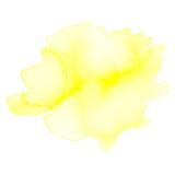 Пушистая помарка акварели Стоковое Изображение RF