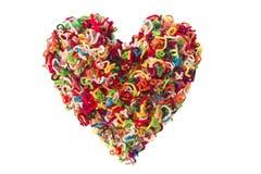 пушистое сердце Стоковое Фото
