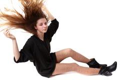 пушистые волосы стоковое изображение rf
