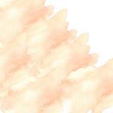 Пушистые помарки акварели Стоковое Изображение RF