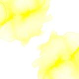 Пушистые помарки акварели Стоковая Фотография RF