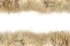 пушистые шерсти текстуры Стоковая Фотография
