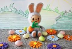 Пушистый кролик Стоковые Изображения RF