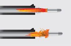 пушка включения пули бесплатная иллюстрация