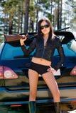 пушка девушки Стоковая Фотография RF
