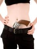 пушка девушки Стоковое Фото