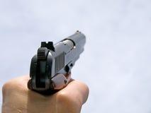 пушка действия готовая Стоковая Фотография