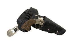 пушка ковбоя пояса Стоковая Фотография RF