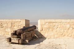 пушка santa замока Барвары Стоковые Фото