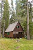 пуща кабины деревянная Стоковое Фото