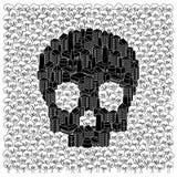 пущи принципиальной схемы сохраняют череп бесплатная иллюстрация