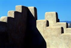 Пуэбло Сан Ildefonso, Неш-Мексико Стоковое Изображение