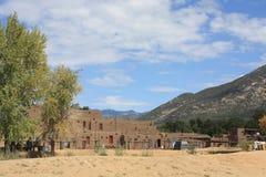 Пуэбло Taos Стоковая Фотография