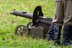 Пулемет сентенции WW II Стоковое Изображение
