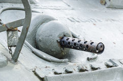 Пулемет танка Стоковые Фото