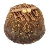 Пудинг губки шоколада Стоковые Фото