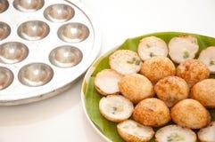 Пудинг кокоса вид тайского sweetmeat. Стоковая Фотография RF