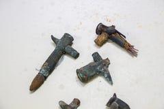 2 пули вступают в противоречия Midair от войны Дарданеллов Стоковая Фотография RF