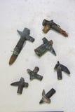 2 пули вступают в противоречия Midair от войны Дарданеллов Стоковое Изображение RF