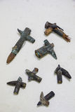 2 пули вступают в противоречия Midair от войны Дарданеллов Стоковое фото RF