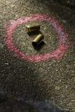 Пули на том основании стоковая фотография rf