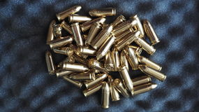 Пули 9 mm 9x19 Стоковые Изображения RF