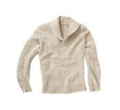 Пуловер зимы изолированный на белизне Стоковая Фотография RF