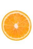 Пульпа апельсина на белой предпосылке белизна предпосылки померанцовая Стоковая Фотография RF