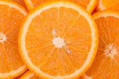Пульпа апельсина на белой предпосылке белизна предпосылки померанцовая Стоковые Фото