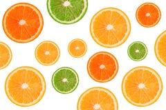 Пульпа апельсина на белой предпосылке белизна предпосылки померанцовая Стоковые Изображения