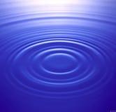 Пульсации воды стоковое изображение