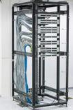 Пульт временных соединительных кабелей Стоковые Фото