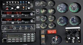 Пульт управления вертолета Стоковые Изображения RF