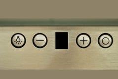 Пульт управления клобука плитаа Стоковая Фотография RF