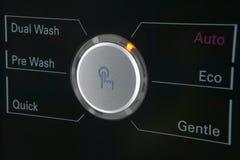 Пульт управления стиральной машины Стоковые Изображения