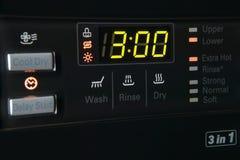 Пульт управления стиральной машины Стоковые Фото