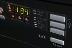 Пульт управления стиральной машины Стоковое Изображение RF
