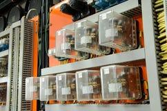 Пульт управления с кабелями и проводами Стоковое фото RF
