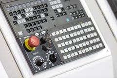 Пульт управления CNC Стоковое Изображение