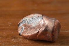 Пуля куртки металла рикошета полная Стоковое фото RF