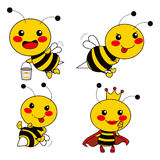 пчела милая Стоковое Изображение