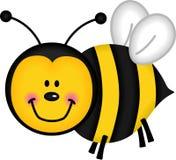 пчела счастливая Стоковое Изображение