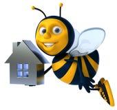 Пчела шаржа Стоковые Изображения RF