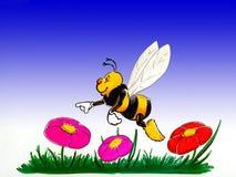 пчела Иллюстрация вектора